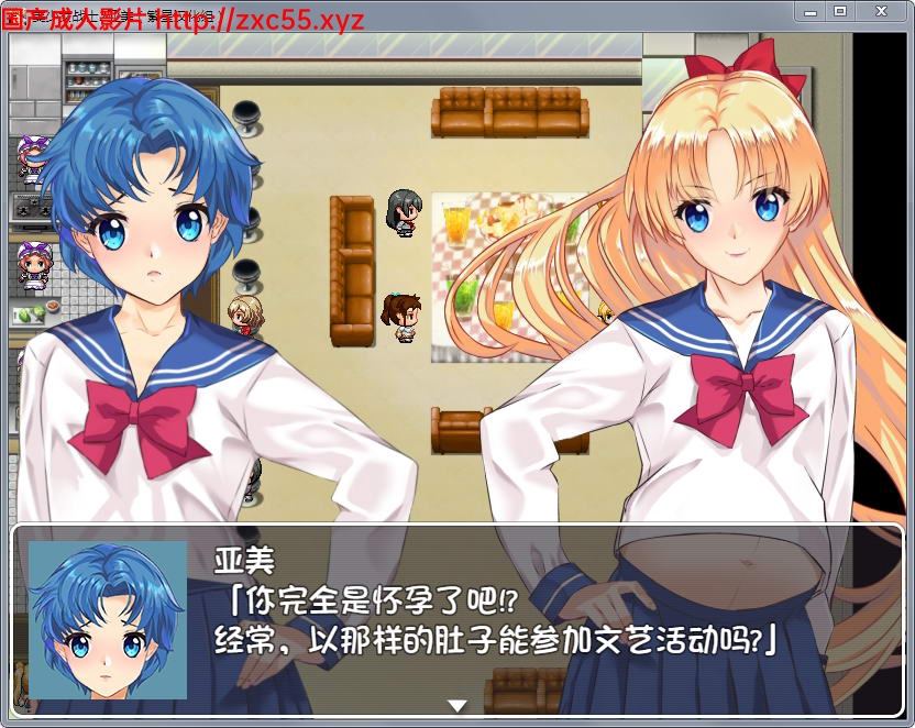 【RPG/汉化/动态】美少女战士JK2:亚美酱的潮炊 PC+安卓汉化版【2G】 5